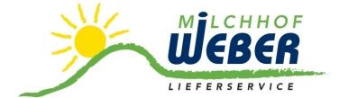 Logo vom Milchhof Weber Lieferservice